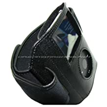 DB Premium Leather Sports Armband - iPod Video 30GB 60GB 80GB / iPod Classic 80GB 120GB 160GB - Black