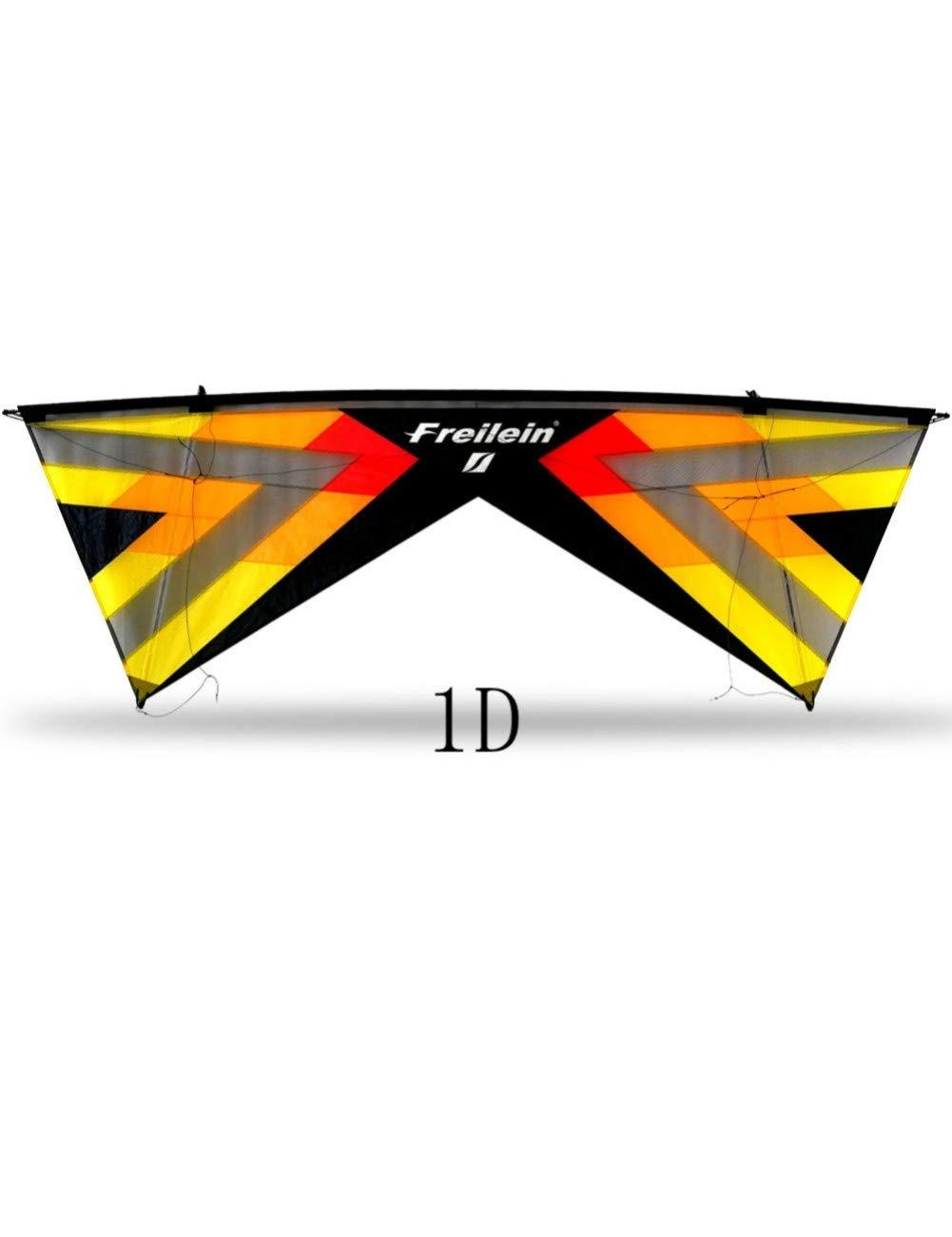 ZSYF Drachen Kite 2,42 M Quad Line Lenkdrachen Mit Handle Line Kite Bar Paragliding Leichtes Fliegen Beach Sport Kite Festival Show
