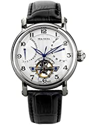 Luxury Brand Seagull Double Retrograde Energy Display Automatic Men's Wrist Watch 819.317 by Seagull