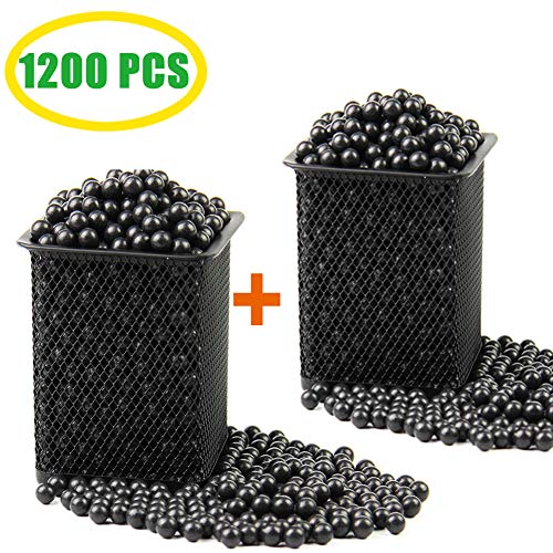 "Slingshot Ammo Professional About 1200 PCS,7/20""(9mm) Hard Clay Ball, Environmentally Friendly."