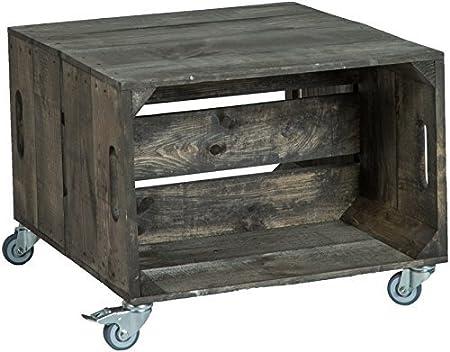 Mesa baja, cuadro de sofá, mesa de café, caja de madera, estantería de frutas, altisch de lluvia, mesa de salón: Amazon.es: Hogar