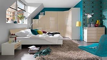 Welle Kleiderschrankwunder Schlafzimmer mit Eckkleiderschrank ...