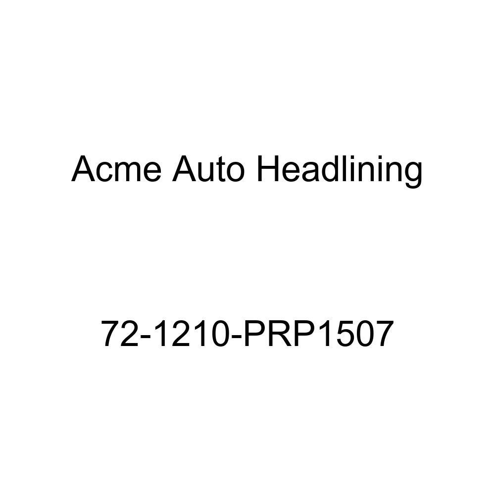 Acme Auto Headlining 72-1210-PRP1507 Red Replacement Headliner 5 Bows 1972 Oldsmobile Delta 88 2 Door Hardtop