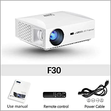 WHLDCD Proyector Proyector Full HD F30UP, 1920x1080P. Android 6.0 ...