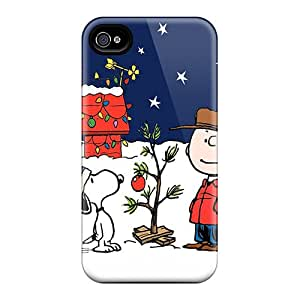 Bumper Hard Phone Cases For Iphone 6plus With Allow Personal Design Attractive Peanuts Charlie Brown Christmas Image DannyLCHEUNG