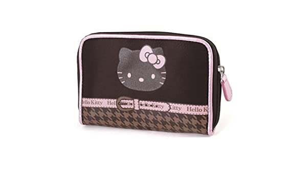 Hello Kitty Chocolate Houndstooth Cartera Por Camomilla: Amazon.es: Equipaje