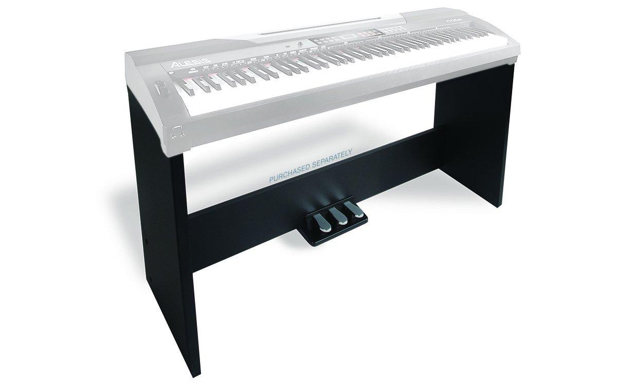 Alesis Coda Piano Stand | Stand for Coda & Coda Pro Digital Pianos (Includes Soft, Sostenuto, and Sustain Pedals) CODA STAND