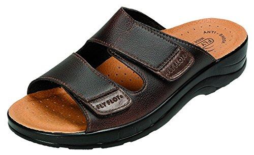 Fly Flot - Sandalias de vestir para hombre marrón marrón marrón