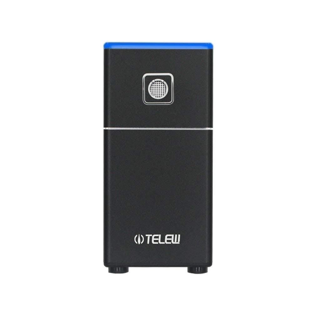VTECHOLOGY HEPA Filter, Compact Odor Allergen Eliminator Cleaner,Ozone Sterillization,Sterilizing Deodorizer Purifier for Refrigeration,Kitchen,Shoe Cabinet,Wardrobe (Black) by VTECHOLOGY (Image #1)