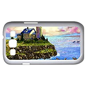 Nature park (Lighthouses Series) Watercolor style - Case Cover For Samsung Galaxy S3 i9300 (White)