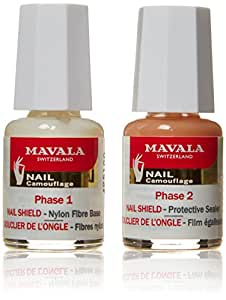 Nail Mavala Shield protege y refuerza Frágil Paquete Nails 5 ml de 2