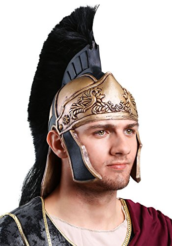 Adult Roman Helmet Standard Gold