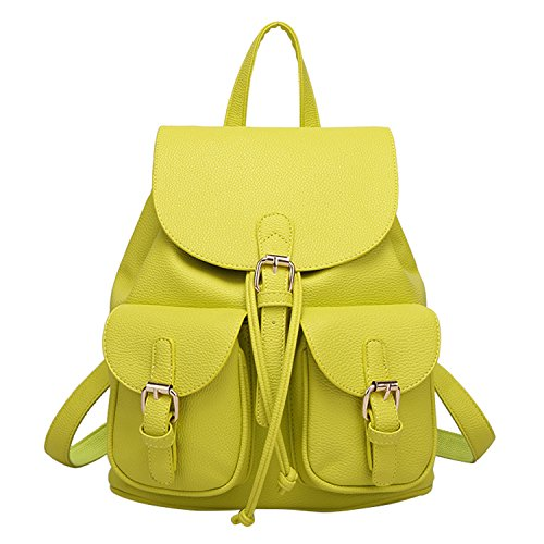 Shijinshi - Bolso al hombro para mujer Talla Unica Amarillo - amarillo