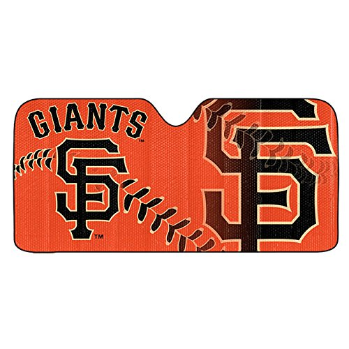 Team ProMark San Francisco Giants Auto Sun Shade 59x27