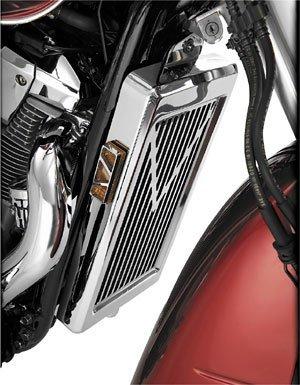 Show Chrome V-Style Radiator Grille , Finish: Chrome 53-114