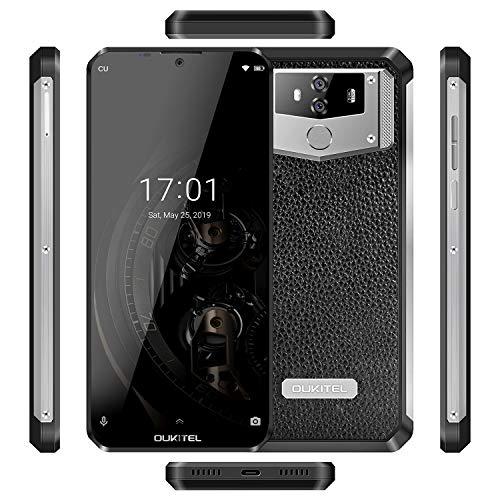 Smartphone, OUKITEL K12 Unlocked Cell Phone 10000mAh Big Battery 6G+64G  Android 9 0 Camera 16MP 6 3