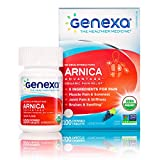 Image of Genexa Arnica Advantage - 100 Tablets | Certified Organic & Non-GMO, Physician Formulated, Homeopathic | Pain Relief Medicine