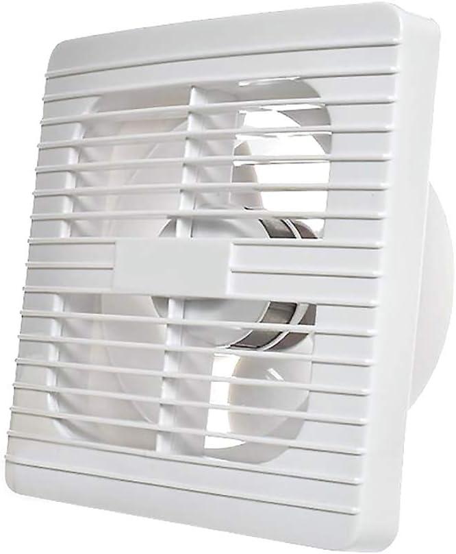 BCXGS Ventilador Extractor de Ventanas o Paredes, Extractor de Aire Pequeño Bajo Consumo de Energía, Ultra Silenciosa y Ventilación Eficiente, Adecuado para área De 7-10㎡