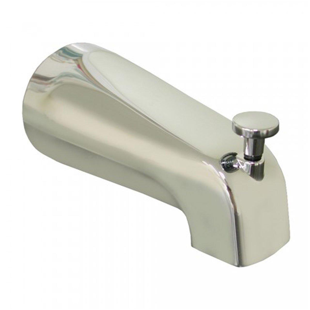 Jones Stephens Corporation D01004 Diverter Bathtub Spout, Chrome ...