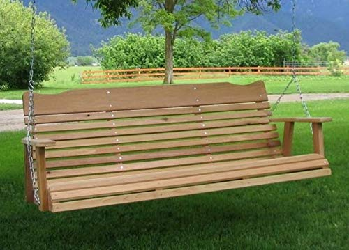 Amazon Com Kilmer Creek 5 Natural Cedar Porch Swing Amish