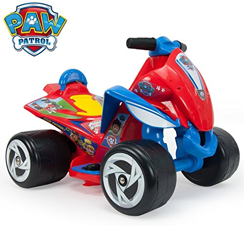 Injusa Paw Patrol Wings 6V Kids Quad Bike Red (Injusa Quad)