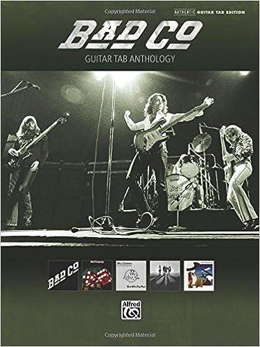 Amazon.com: Bad Company - Guitar Tab Anthology (0884088698157): Bad ...