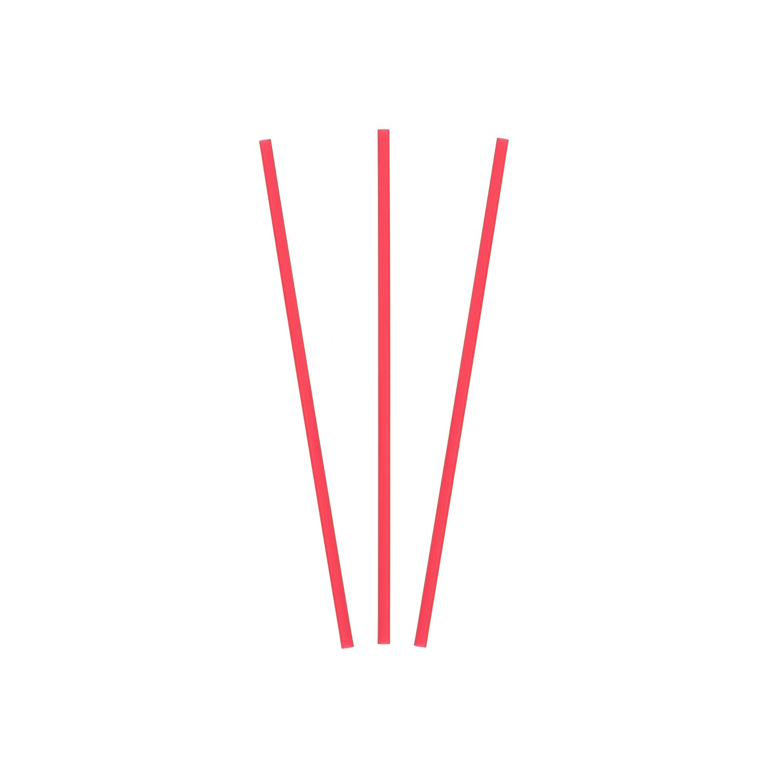 Royal 5'' Red Sip Straw, Inner Bags, Case of 10,000