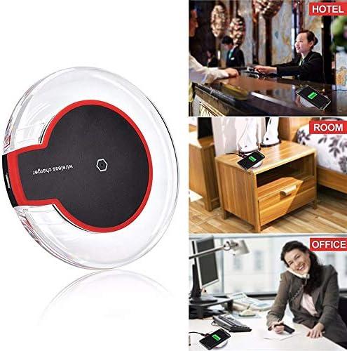 10Wのワイヤレス充電器、AppleのiPhone XSマックス/XR/X / 8プラス/サムスンS10プラス/ S9 / S8プラス/注9およびその他の互換性パッドを、充電チー公認携帯電話