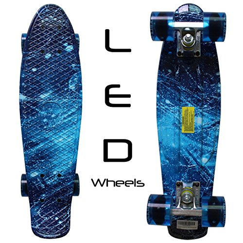LED Wheels 22-Inch Skateboard