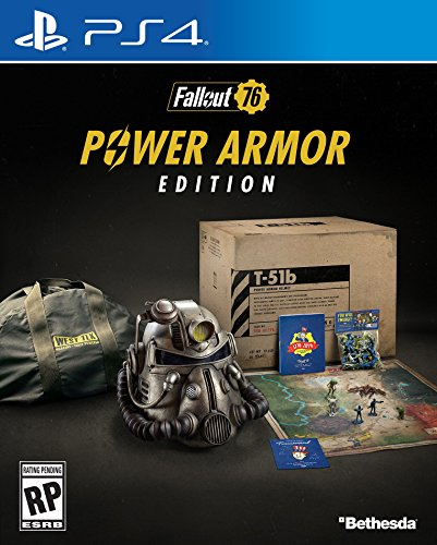 Video Games : Fallout 76 Power Armor Edition- PlayStation 4