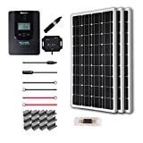 Renogy 300 Watt 12 Volt Off Grid Solar Premium Kit with Monocrystalline Solar Panel and 40A MPPT Rover Controller For Sale