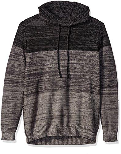 Blizzard Bay Men's Color Block Cowl Neck Sweater