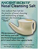 Ancient Secrets Nasal Cleansing Salt 40 packet, 0.25 Boxes (Pack of 8)