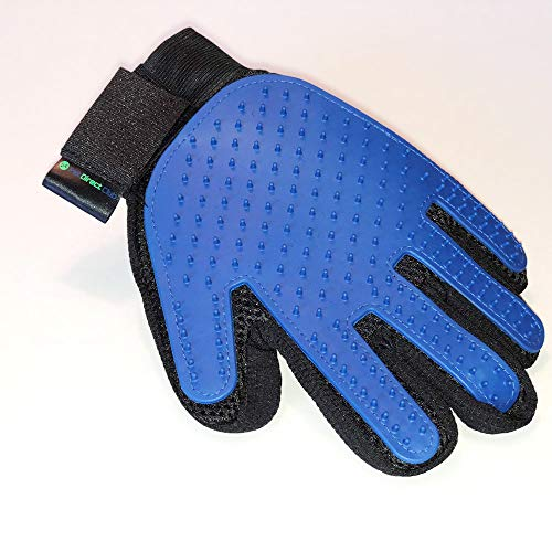 Pet Grooming Glove| Durable, Gentle, Easy to Clean | Pet Hair Removal, Deshedding, Bathing Glove| Perfect for Dogs, Cats…