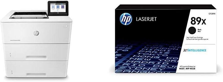 HP Laserjet Enterprise M507x (1PV88A) with XL Black Toner Cartridge