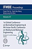 img - for 1st Global Conference on Biomedical Engineering & 9th Asian-Pacific Conference on Medical and Biological Engineering: October 9-12, 2014, Tainan, Taiwan (IFMBE Proceedings) book / textbook / text book
