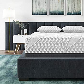 Classic Brands Cool Gel 2.0 Ultimate Gel Memory Foam 14-Inch Mattress with BONUS 2 Pillows, Queen