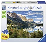 Ravensburger Beautiful Vista Large Format 500 Piece Jigsaw Puzzle for Adults - Every Piece is Unique, Softclick Technology Means Pieces Fit Together Perfectly