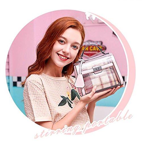 Gelatina · Yu Colore Pacchetto Borsa Casuale Creativo Rosa Liu Crossbody Rosa Spalla colore Casa Donna ZxT8qxCdw5