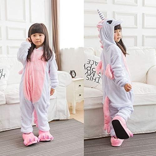 Pijama Unicornio Niños Invierno Mono Unicornio Pijamas Kigurumi ...