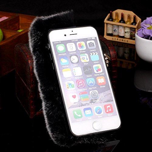 Apple iPhone 6/6S Étui Housse Case wuschel Madame Housse gris decui Gris/TPU Coque en gel