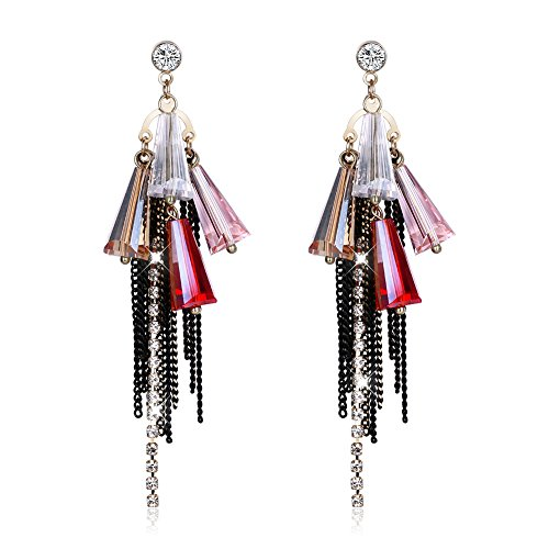 Yellow Chimes Designer Fashion Tassels Earrings for Girls and Women