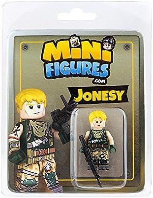 Amazon Com Custom Design Minifigure Fortnite Jonesy Toys Games