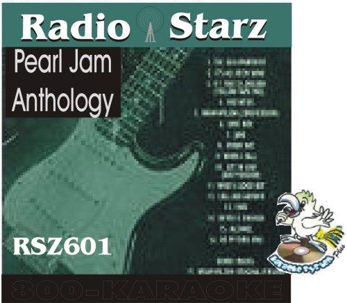 Pearl Jam 18 Song Karaoke CD+G Radio Starz #601
