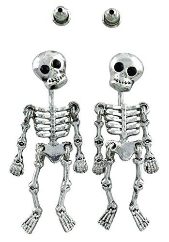 Skeleton Loose Limbs Skeleton Earrings