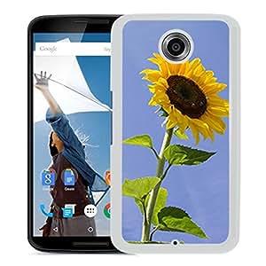 Unique DIY Designed Cover Case For Google Nexus 6 With Sunflower Flower Mobile Wallpaper 7 (2) Phone Case