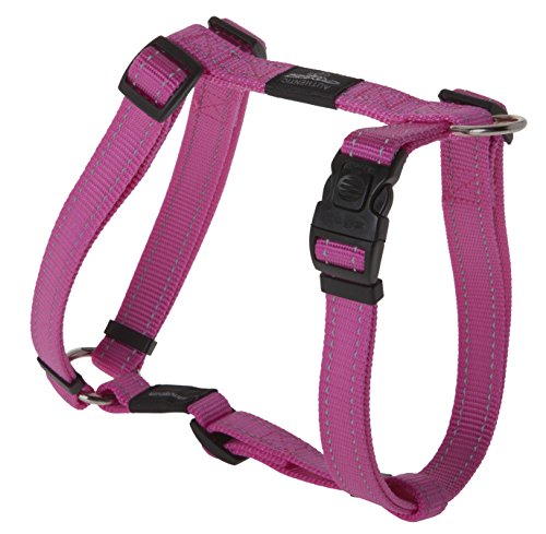 Reflective Adjustable Dog H Harness for Large Dogs; matching