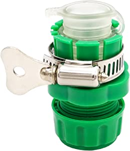 LKXHarleya Fit for 15-21mm Universal Water Tap to Garden Hose Pipe Connector Mixer Kitchen Tap Adapter Faucet Hose Quick Connector