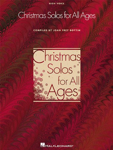Christmas Solos for All Ages - High Voice (Vocal Collection)