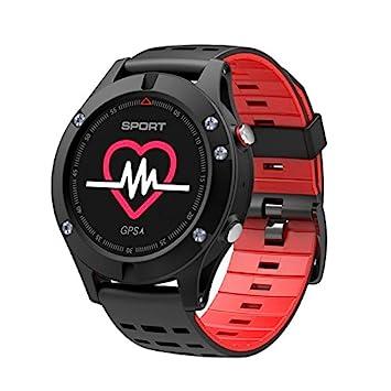 NO.1 F5 inteligente reloj IP67 a prueba de agua del ritmo cardíaco del monitor de GPS Múltiples modos de deportes OLED altímetro Bluetooth rastreador de ...